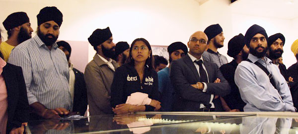 City Sikhs Network at the Golden Temple exhibition
