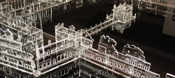 GT Model at the golden temple exhibition